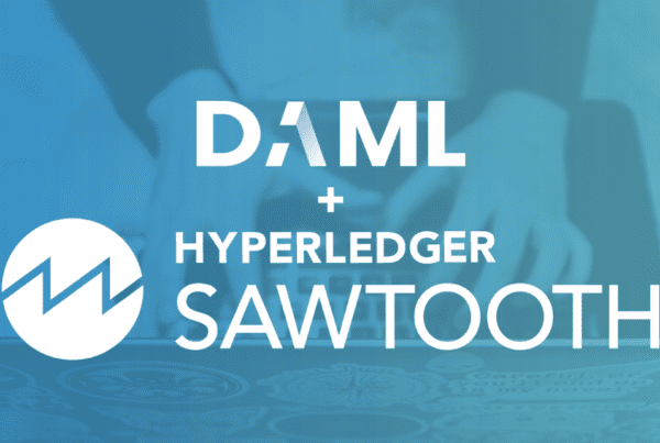 da18bc75aa7 DAML smart contracts coming to Hyperledger Sawtooth